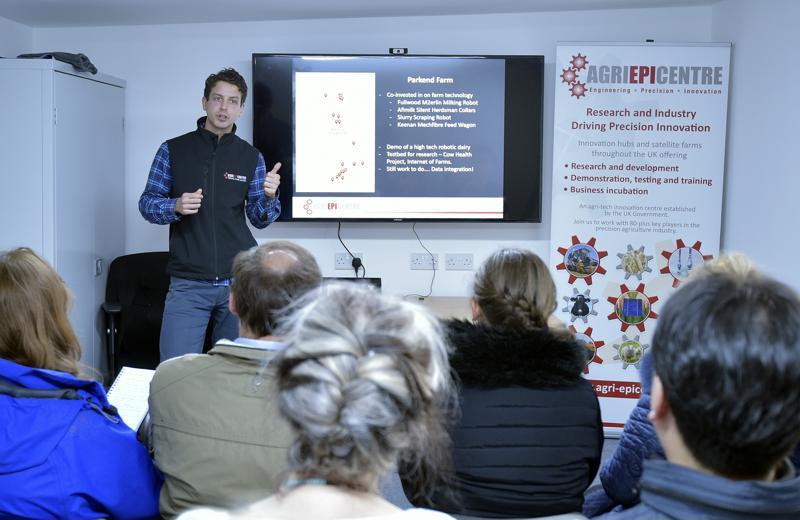 International rural conference visits Parkend Farm - workshop