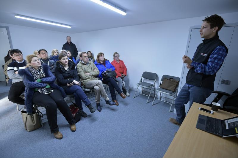 International rural conference visits Parkend Farm - workshop 2