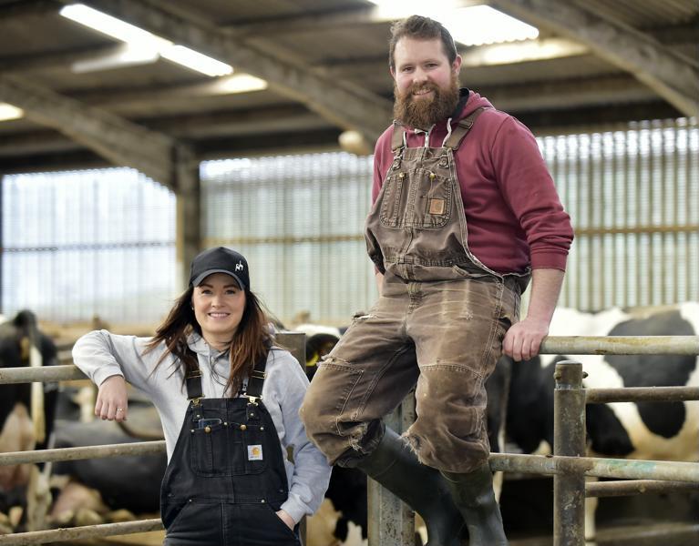 International rural conference visits Parkend Farm - Wetherup Family