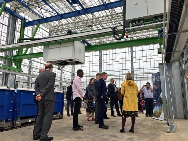 Opening Agri-Informatics facility Cranfield University, Bedfordshire