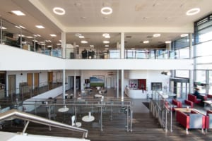 Midlands Hub Atrium