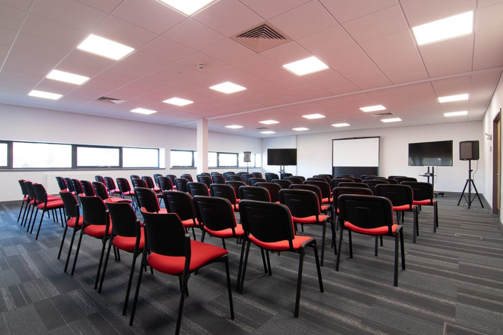 Conference Room - Business Incubation | Agri-EPI Midlands Agri-Tech Innovation Hub | venue space | Technology workshop space | events | Conference | Office Space | Virtual Office