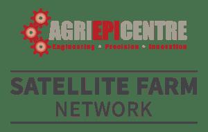 Agri-EPI Satellite Farm Network Logo Stacked