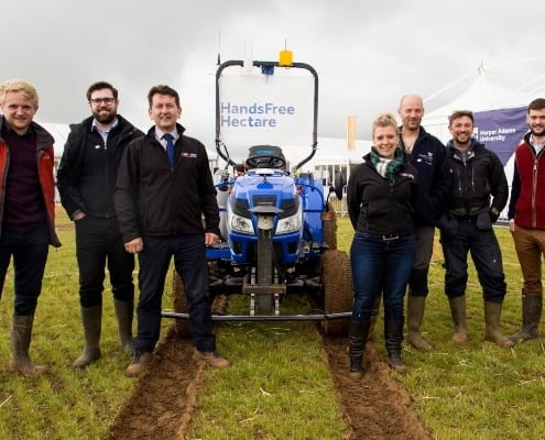 Agri-EPI impact - supporting ground-breaking Hands Free Farm