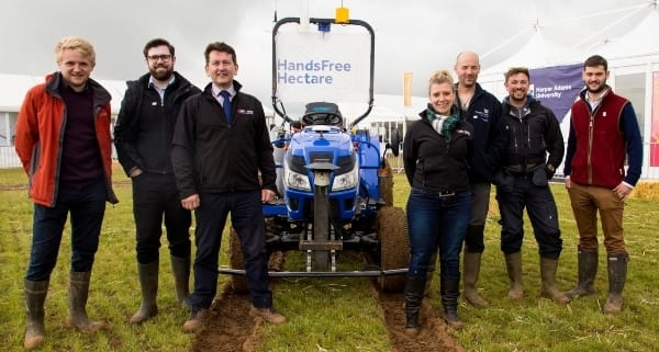 Agri-EPI supports ground-breaking Hands Free Farm