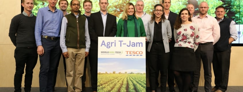 Roboscientific Wins Tesco Agri T‐Jam and World Agri‐Tech Pitch Day 2019