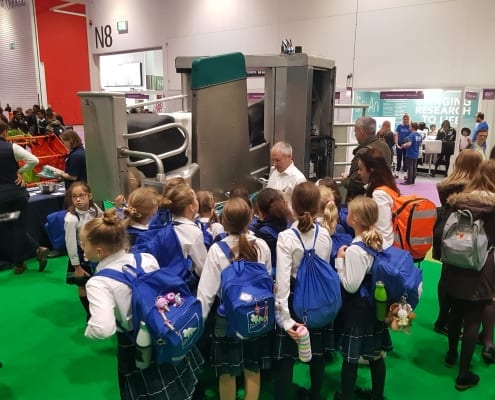 NSL visitors at GEA's Robotic Milking System
