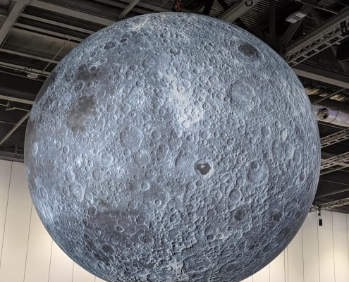 The moon at NSL