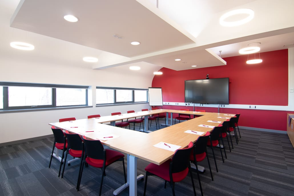 Board room - Business Incubation | Agri-EPI Midlands Agri-Tech Innovation Hub | venue space | Technology workshop space | events | Conference | Office Space | Virtual Office