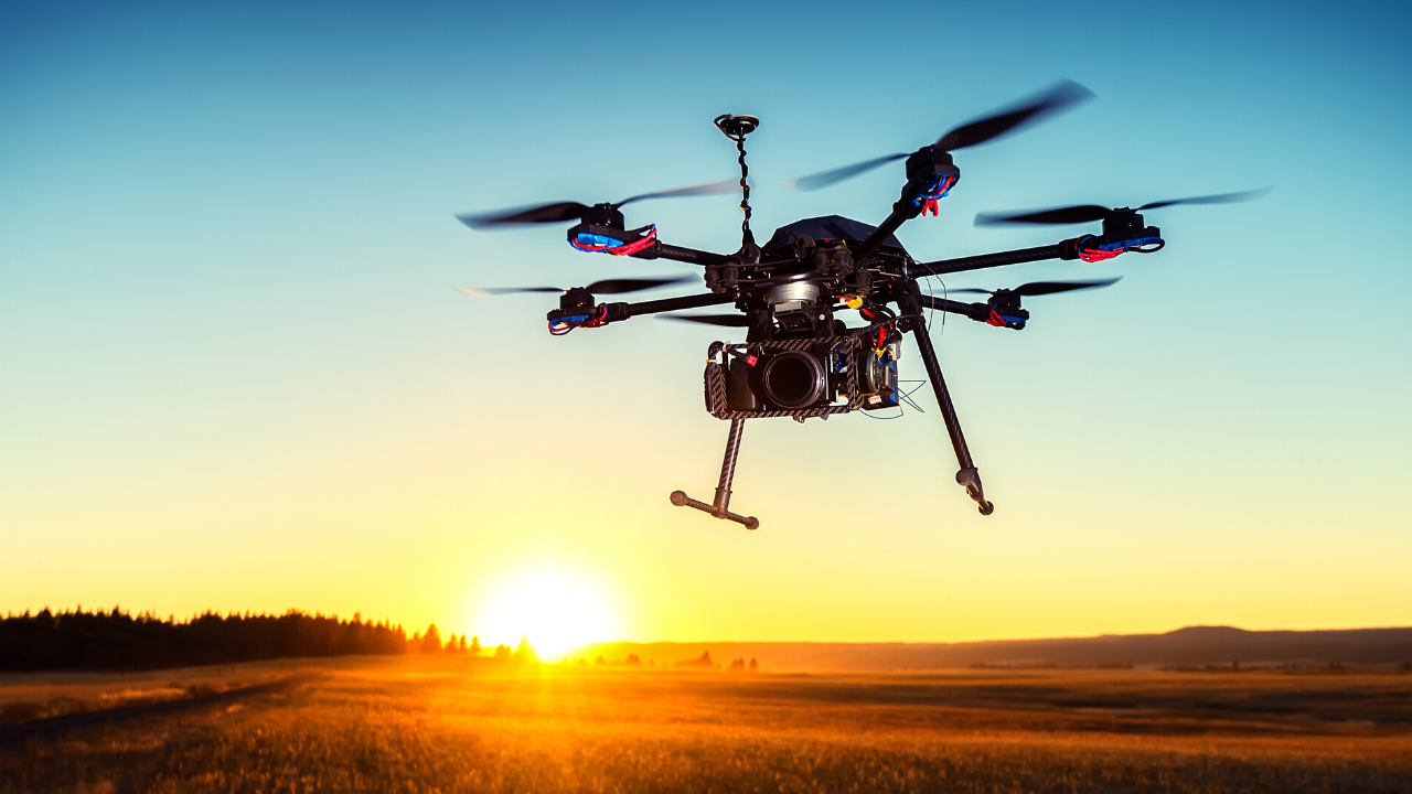 agricultural drone | agri-EPI Centre - pioneering agricultural technology