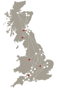 Map Agri-EPI UK Farm Network