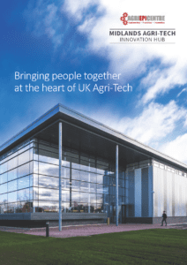 Agri-EPI Midlands Agri-Tech Innovation Hub venue brochure cover