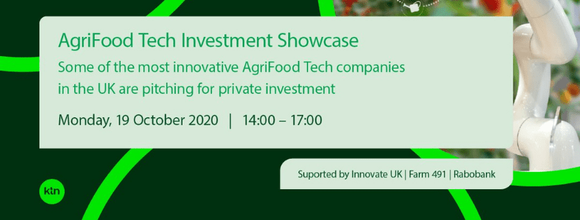 KTN AgriFood Tech Investment Showcase 2020 19 October 2020