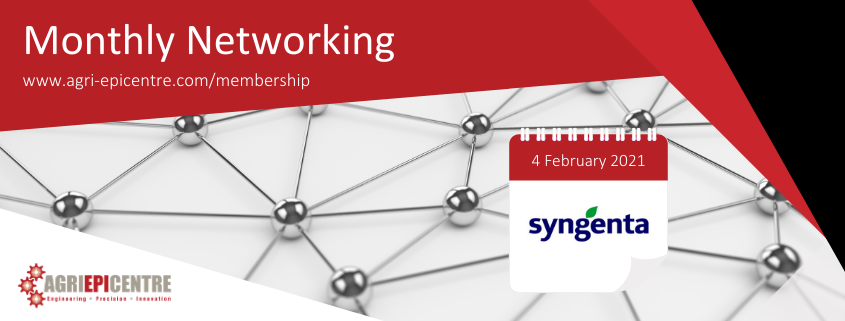 Agri-EPI Monthly networking | Agri-Tech Connect with Syngenta