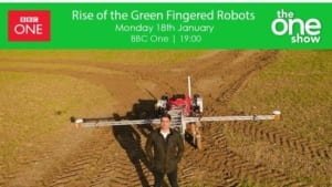 Agri-EPI member Small Robot Company BBC The One Show 18 Jan 2021