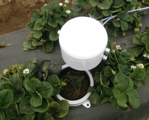 Soil Flux 360 | Agri-EPI Soil and Crop Technology Solutions | Eosense eosAC Multi-Species Soil Flux Chamber