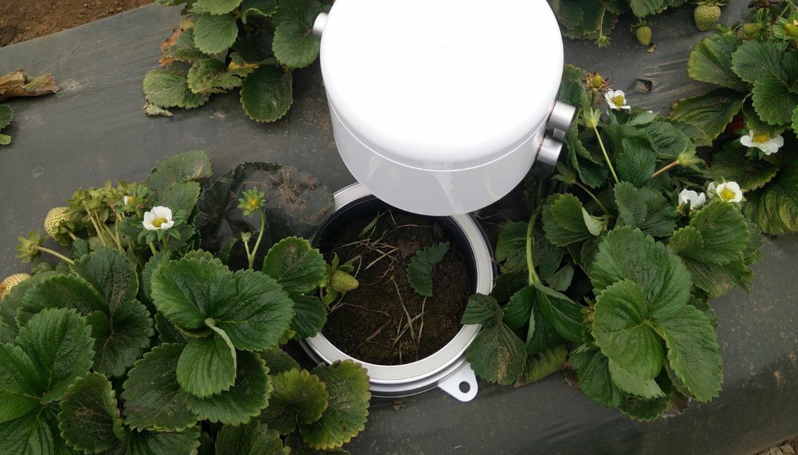 Soil Flux 360 | Agri-EPI Soil and Crop Technology Solutions | Eosense eosAC Multi-Species Soil Flux Chamber