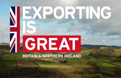 Department for International Trade Exporting is Great at Agri-EPI Centre Midlands Agri-Tech Innovation Hub